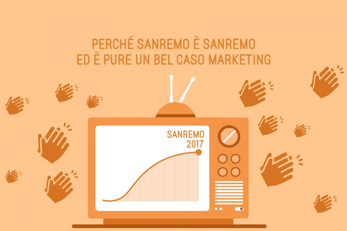 Perché Sanremo è Sanremo, ed è pure un bel caso marketing
