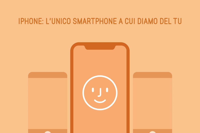 """iPhone: l'unico smartphone a cui diamo del """"tu"""""""