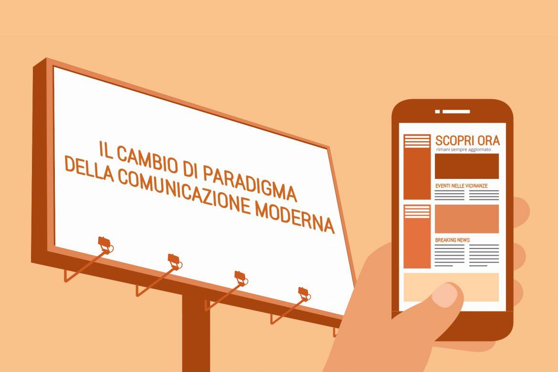 Il cambio di paradigma della comunicazione moderna