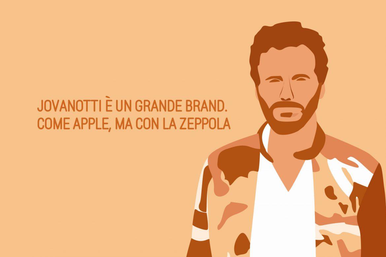 Jovanotti è un grande brand. Come Apple, ma con la zeppola