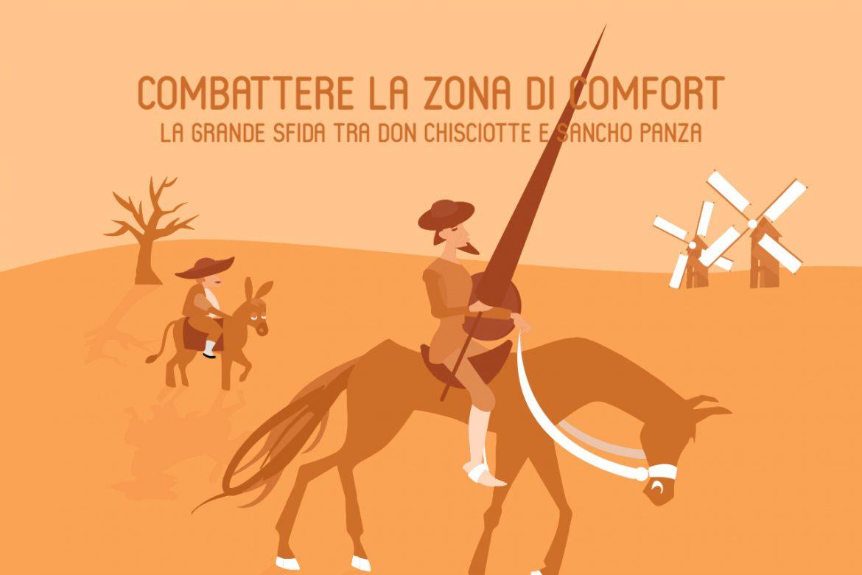 Combattere la zona di comfort: la grande sfida tra Don Chisciotte e Sancho Panza