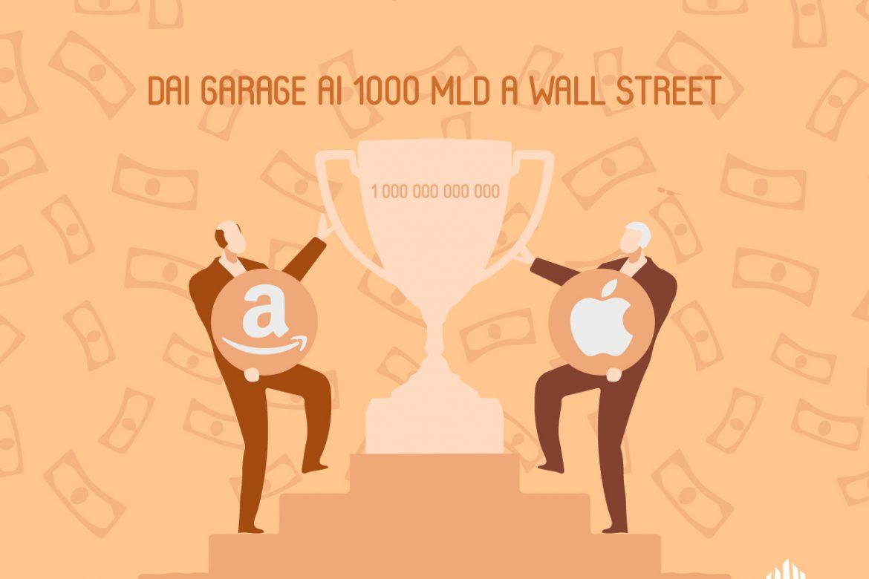 Apple e Amazon: dal Garage ai 1.000 miliardi a Wall Street