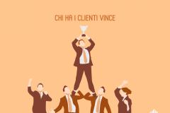 Chi ha i clienti vince
