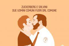 Zuckerberg e Salvini: due uomini comuni fuori dal comune