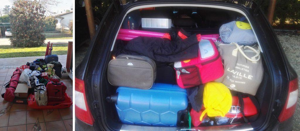 bagagli automobile