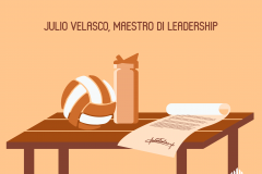 Julio Velasco, Maestro di Leadership