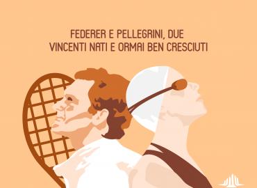 Federer e Pellegrini, due vincenti nati e ormai ben cresciuti