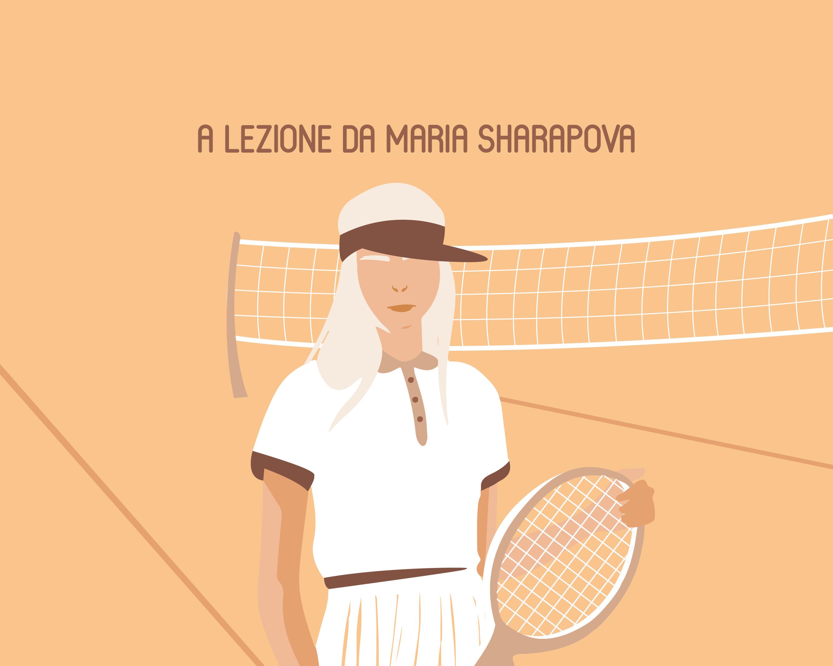Cultura del lavoro: a lezione da Maria Sharapova