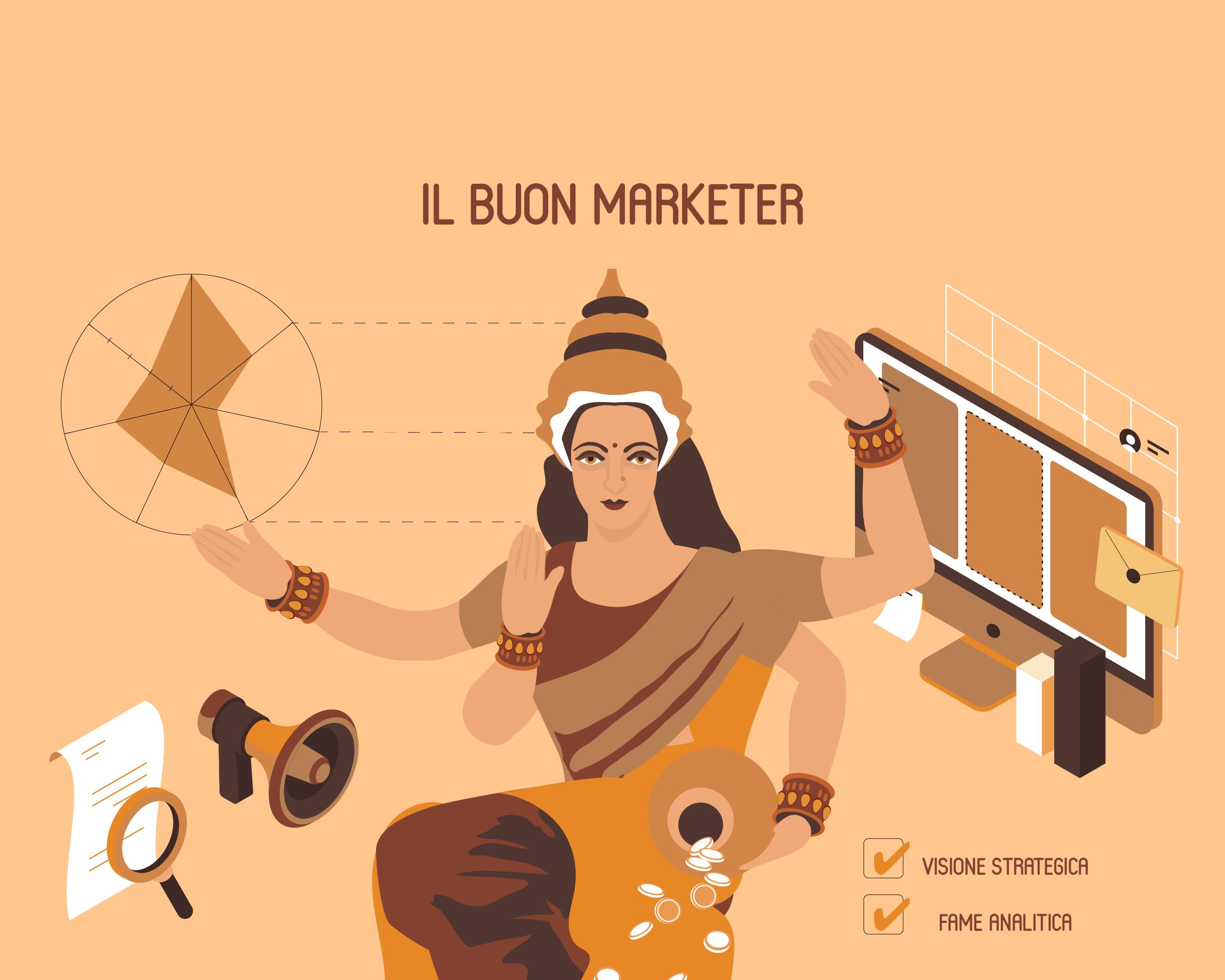 Da cosa si vede un buon marketer?