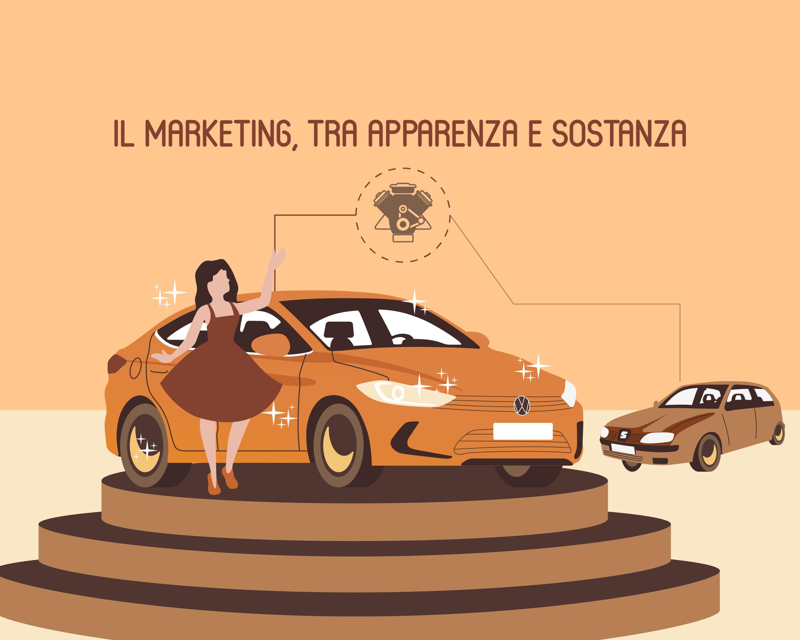 Il marketing, tra apparenza e sostanza