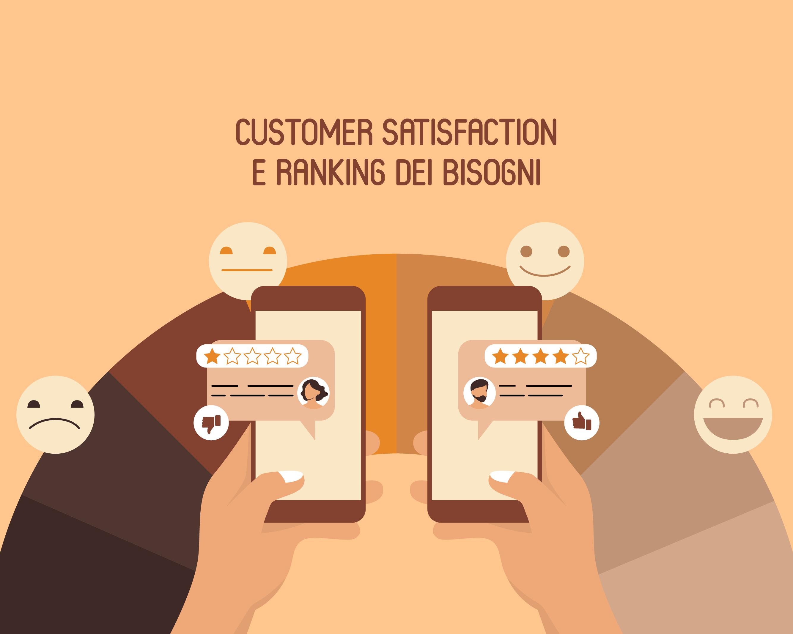 Soddisfazione del cliente e il Ranking dei Bisogni