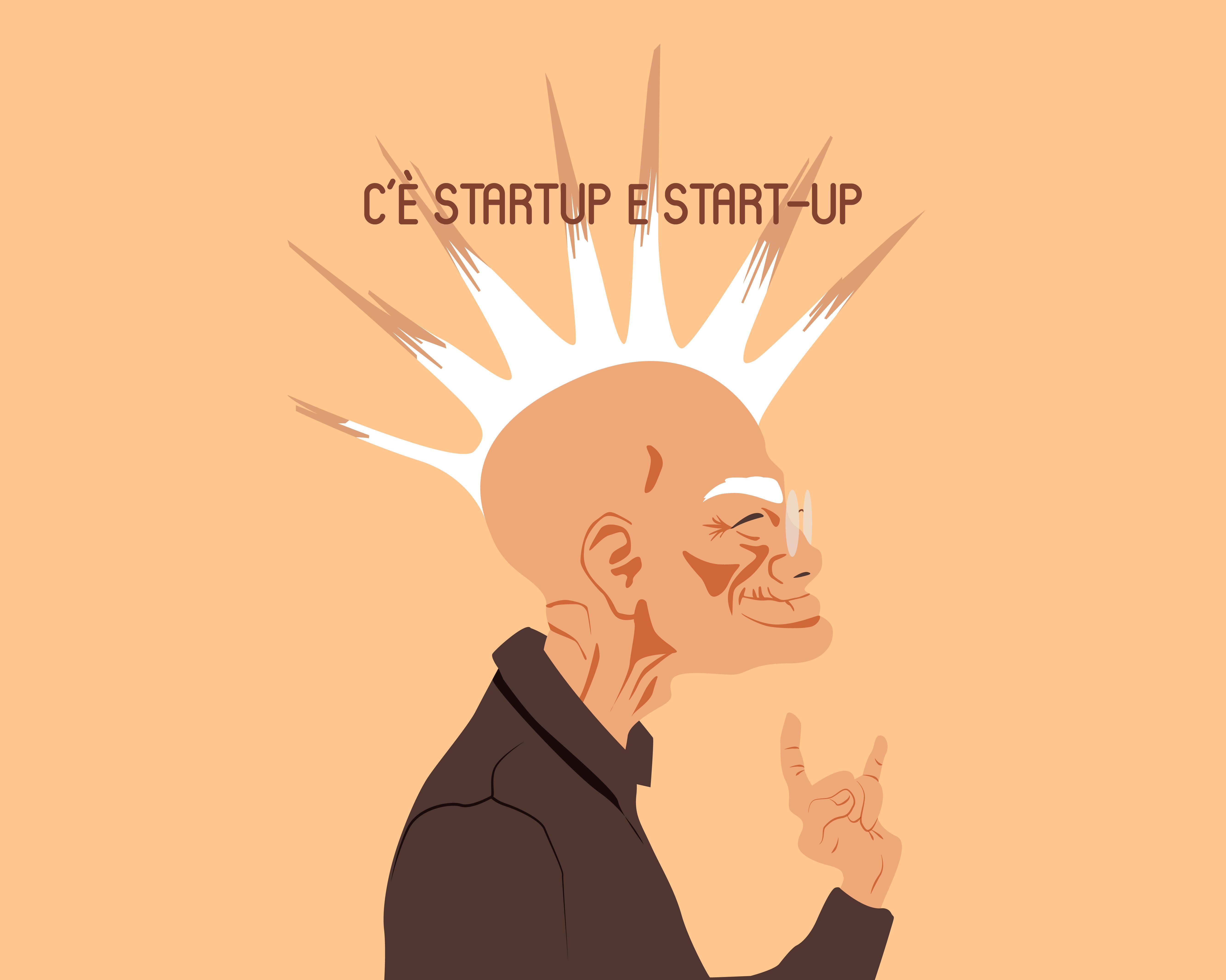 C'è startup e start-up