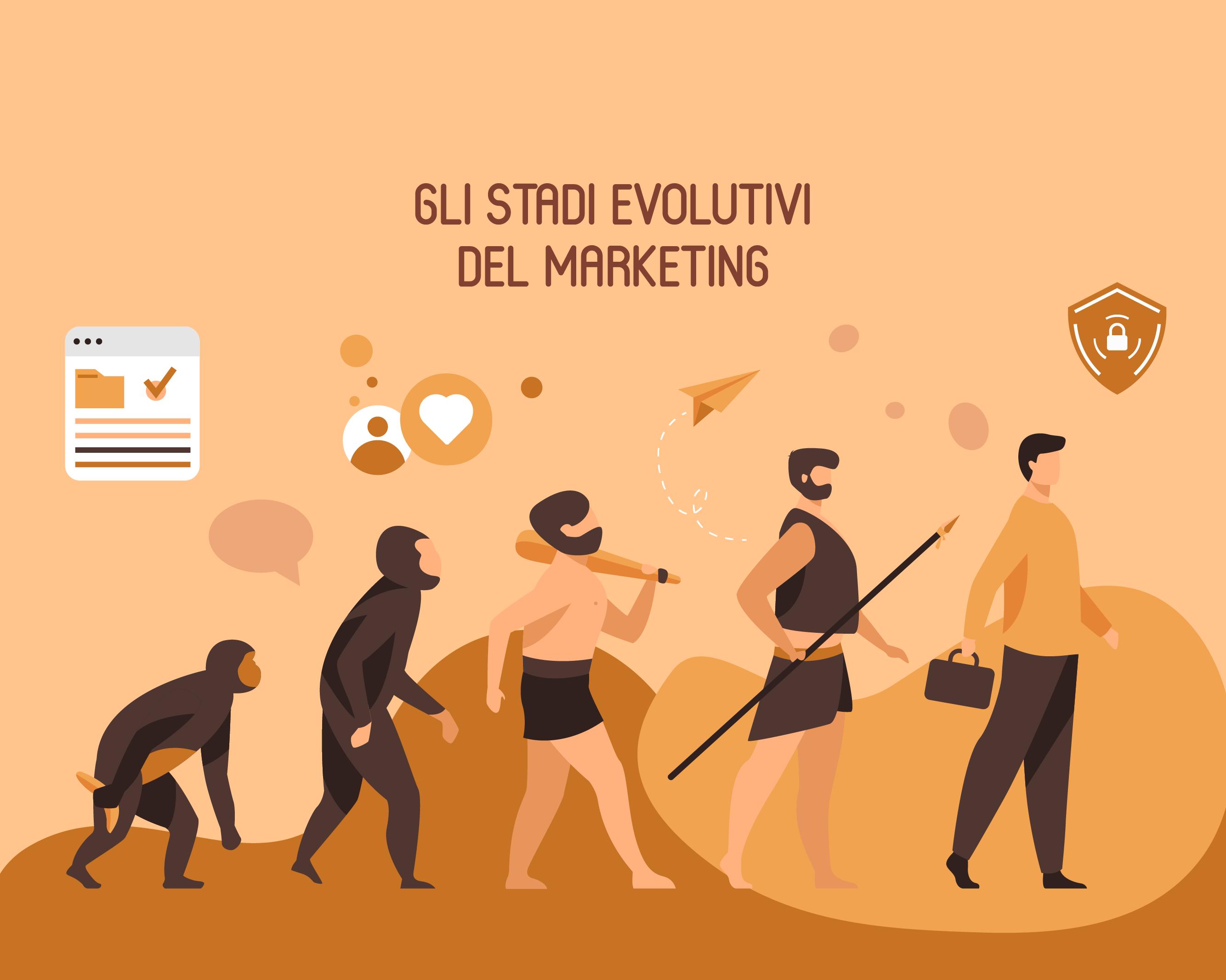 Gli stadi evolutivi del marketing